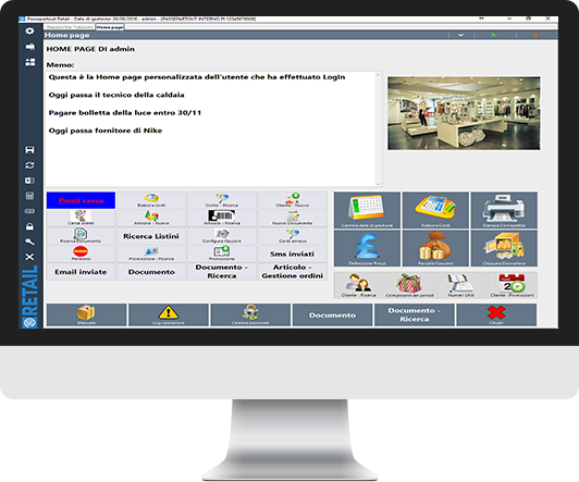 Software gestionale negozio